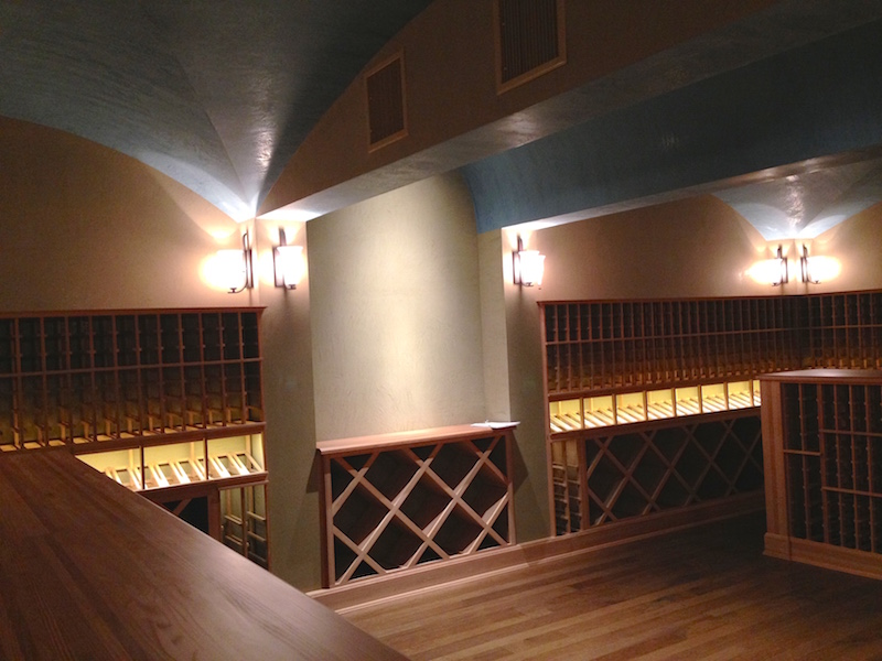 New! 550 square foot wine cellar by The Arkitex Studio in Bryan, TX
