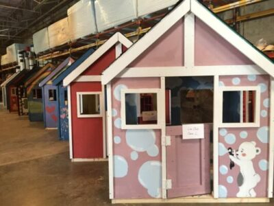 Habitat for Humanity- Playbuild Playhouses